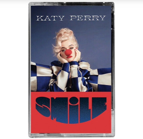 Katy Perry - Smile - New Cassette 2020 Capitol USA Transparent Blue Tape - Pop