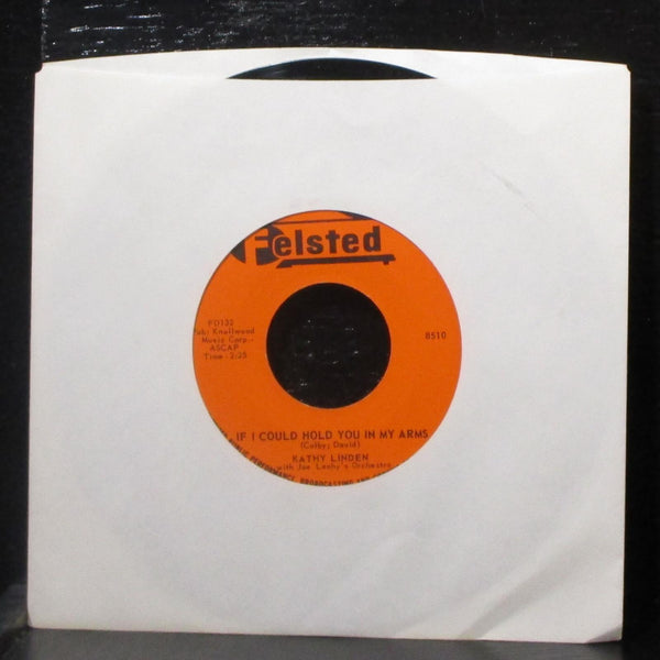 "Kathy Linden - Billy / If I Could Hold You In My Arms 7"" Mint- Vinyl 45 Felsted"