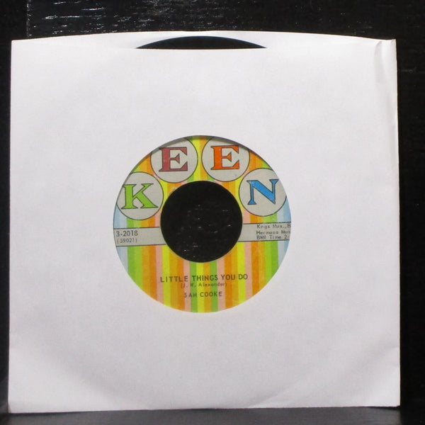 "Sam Cooke - Everybody Likes To Cha Cha Cha / Little Things You Do 7"" VG Vinyl 45"