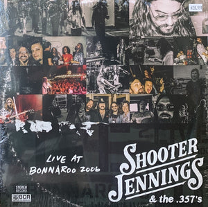 Shooter Jennings & The .357's ‎– Live At Bonnaroo 2006 - New 2 Lp Record Store Day 2020 BCR USA RSD Vinyl - Country