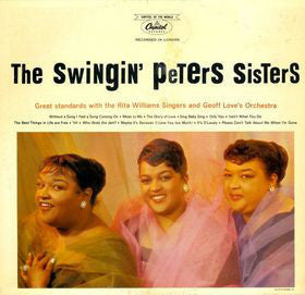 The Peters Sisters - The Swingin' - VG+ 1959 Mono USA - Jazz/Vocal