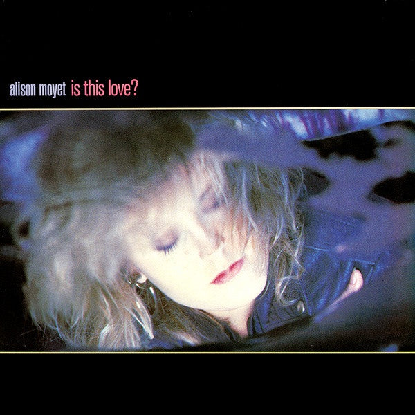 "Alison Moyet ‎– Is This Love? MINT- 12"" Single 1986 Columbia USA - Synth-pop"