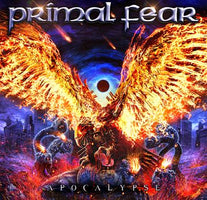 Primal Fear - Apacalypse - New Vinyl Lp 2018 Frontiers Music 'Indie Exclusive' Pressing on Red Vinyl with Gatefold Jacket - Heavy Metal