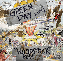 Green Day - Woodstock 1994 - New Lp 2019 Reprise RSD First Release - Pop Punk