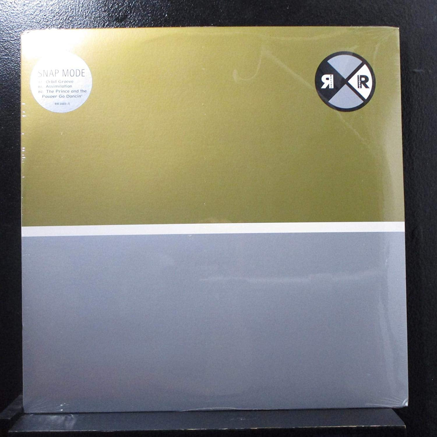 "Snap Mode ‎– Orbit Groove - New 12"" Ep Record 2001 Relief USA Chicago Vinyl - Techno / Electronic"