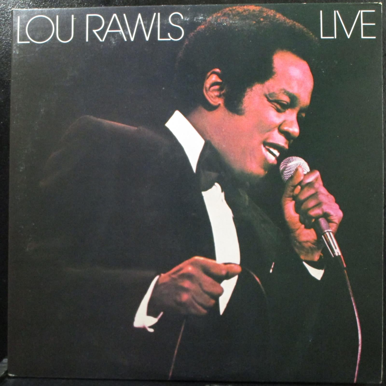 Lou Rawls - Live Mint- 2 LP Philadelphia International PZ2 35517 USA 1978