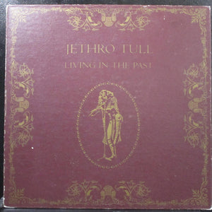 Jethro Tull - Living In The Past VG+ 2 LP Chrysalis 2CH 1035 USA 1972 hardcover