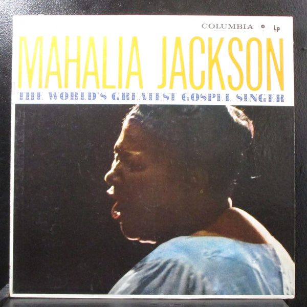 Mahalia Jackson - World's Greatest Gospel Singer Mint- Mono LP Columbia CL 644
