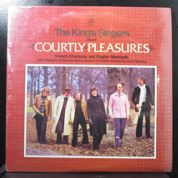 The King's Singers - Courtly Pleasures new sealed LP Angel S-37025 USA 1974