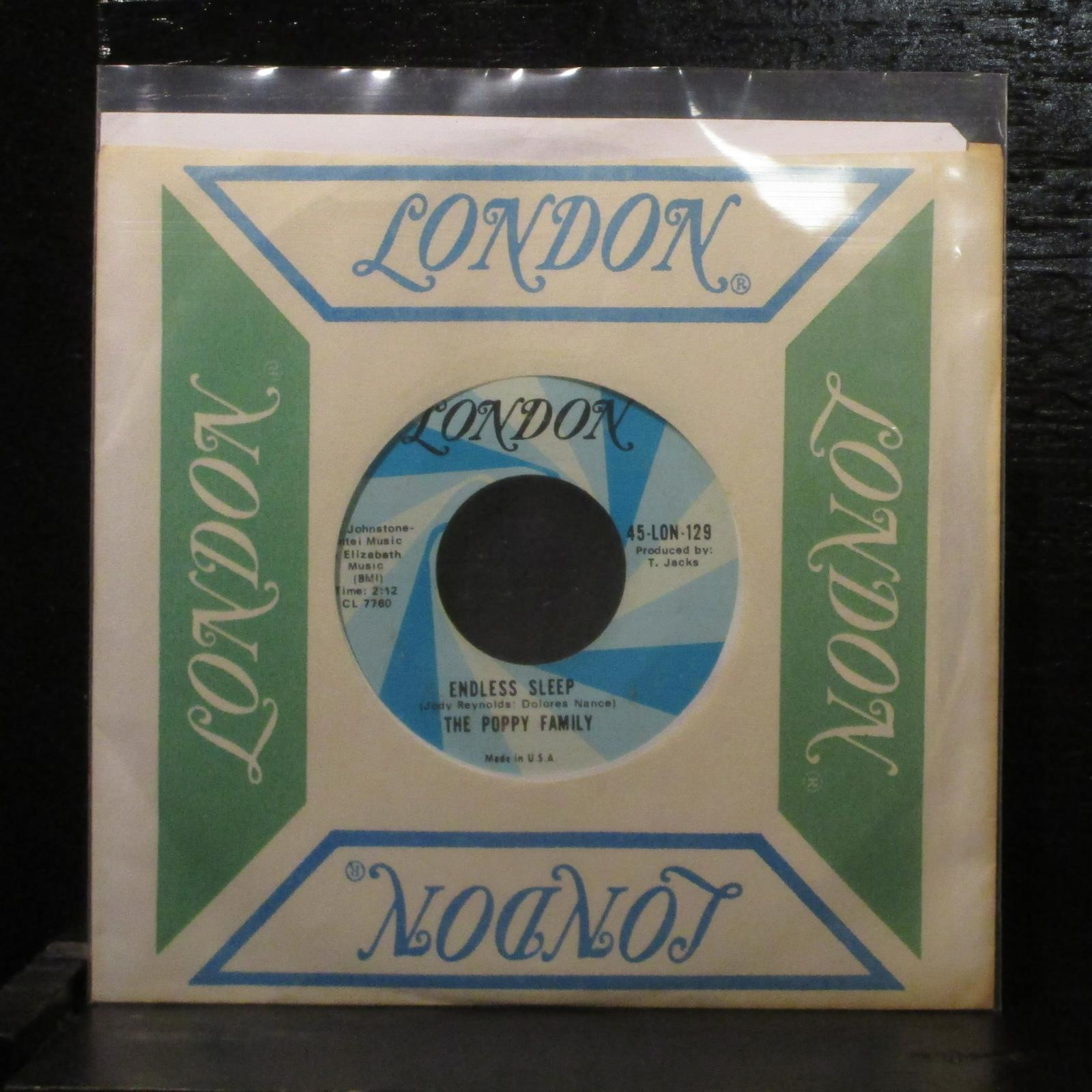 "The Poppy FamilyWhich Way You Goin' Billy? 7"" Vinyl 45 Folk Rock London 45-129"