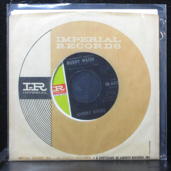 "Johnny Rivers - Muddy Water / Roogalator 7"" VG+ Imperial IM-66175 USA 1966"