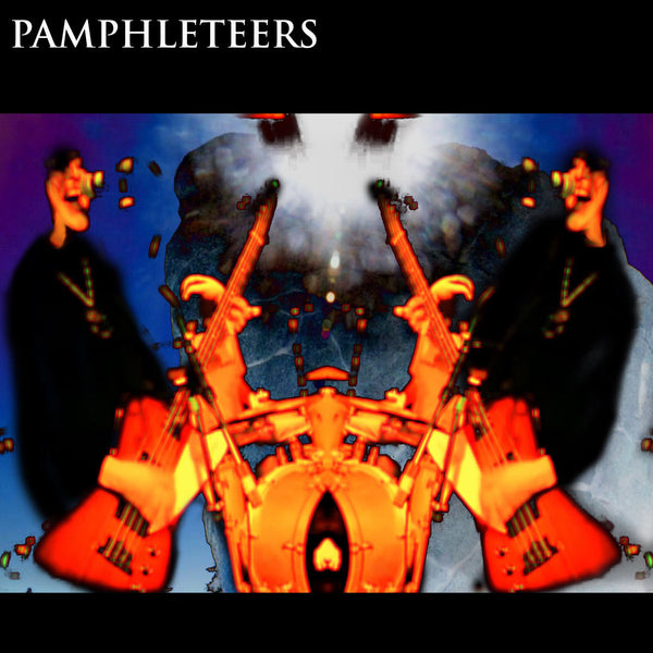 The Pamphleteers - New Vinyl Record 2016 LP + Download - Chicago, IL Post-Punk / New Wave / Psychedelia