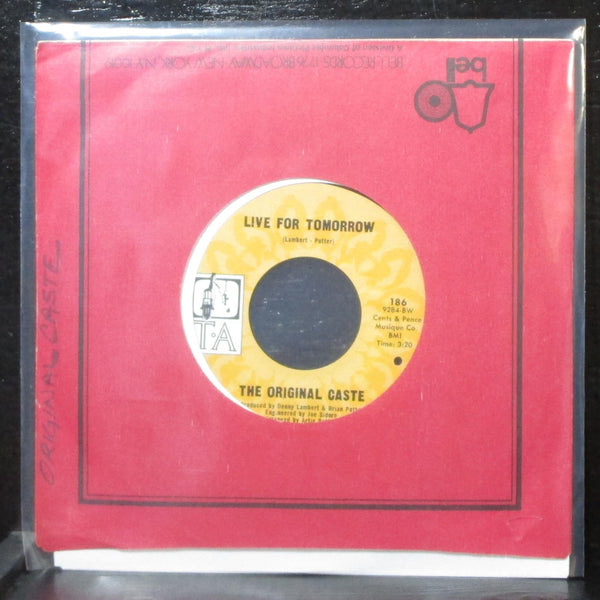 "Original Caste - One Tine Soldier / Live For Tomorrow 7"" Mint- T-A 186 label var"