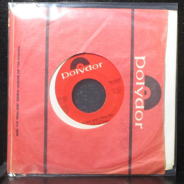 "Roger Daltrey - Waiting For A Friend / Bitter And Twisted 7"" VG+ Polydor PD 2153"