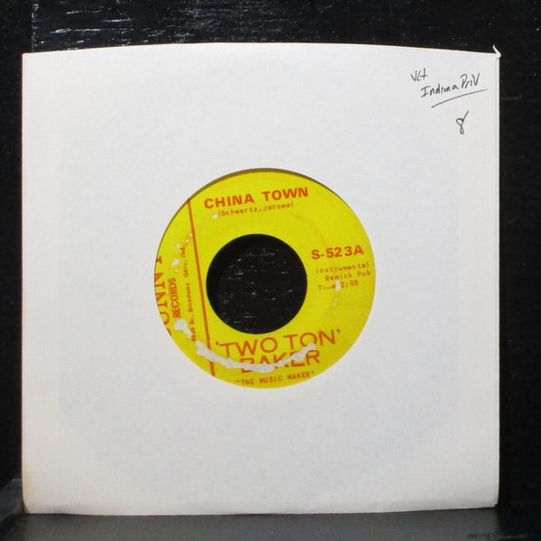 "'Two Ton' Baker - China Town / Down Yonder 7"" VG+ Sunny S-523 USA"