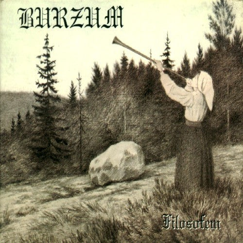 Burzum - Filosfem - New Vinyl Record 2015 Back on Black Gatefold 2-LP Limited Edition Reissue - Black Metal