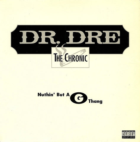 "Dr. Dre - Nuthin' But A ""G"" Thang - New 12"" Single 2019 eOne RSD First Release - Rap / Hip Hop"