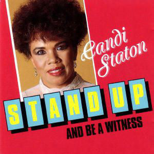 Candi Staton - Stand Up And Be A Witness - VG+ 1989 Stereo USA - Gospel/Soul