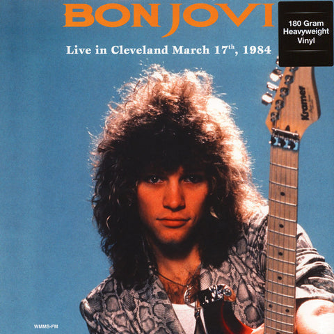 Bon Jovi ‎– Live In Cleveland, OH. (March 17th, 1984) New Vinyl Record 2017 DOL 180Gram EU Import - Pop / Rock