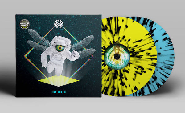 Bassnectar - Unlimited - New Vinyl Record 2016 Amorphus Records Limited Edition Gatefold 2-LP + Download - Dubstep / Drum & Bass / Electronic