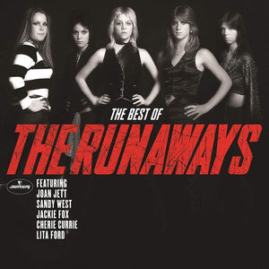 The Runaways - The Best Of The Runaways - New Vinyl Lp 2018 Mercury Compilation - Rock / Glam