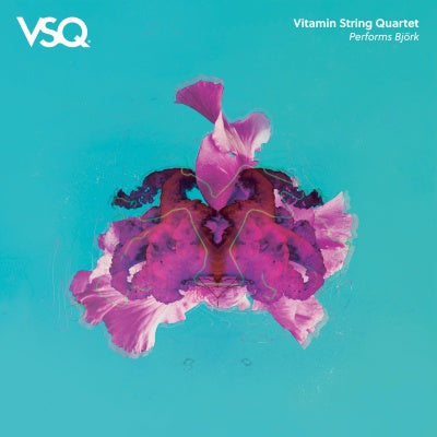 Vitamin String Quartet - VSQ Performs Bjork - New 2 Lp 2019 CMH Label Group RSD First Release on 180gram Clear Vinyl - Modern Classical / Ambient
