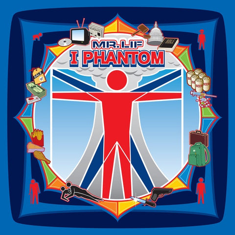 Mr. Lif ‎– I Phantom (2002) - New 2 LP Record 2015 Mello Music USA Vinyl Reissue - Hip Hop