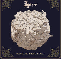 gorrr - Savage Sinusoid - New Vinyl Lp 2018 Metal Blade Pressing on Red-Brown Marbled Vinyl with Download (Limited to 500!) - Black Metal / Breakcore / Electronica