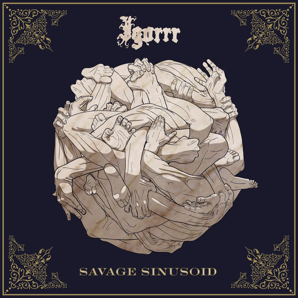 Igorrr - Savage Sinusoid - New Vinyl Lp 2018 Metal Blade Pressing on Red-Brown Marbled Vinyl with Download (Limited to 500!) - Black Metal / Breakcore / Electronica