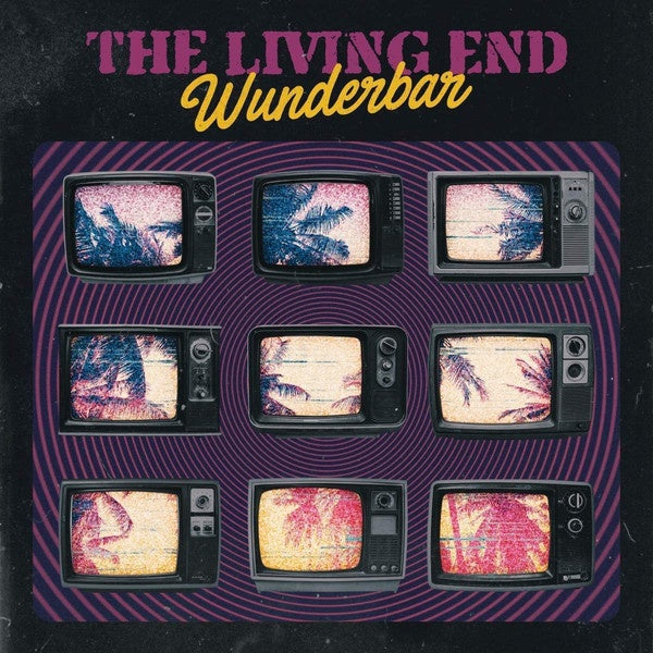 The Living End ‎– Wunderbar - New Vinyl Lp 2018 Rise Records Limited Edition 1st Pressing on Colored Vinyl with Download - Punk