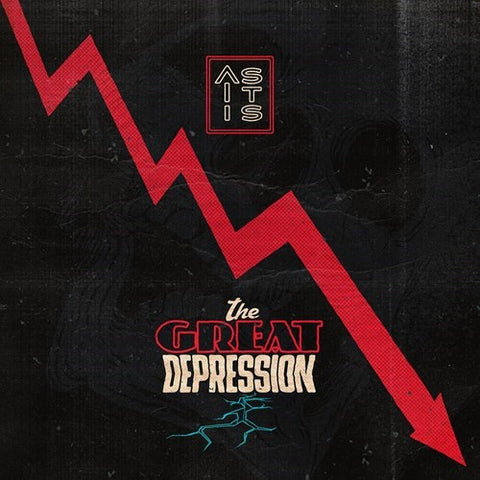 As It Is – The Great Depression - New Vinyl Lp 2018 Fearless Records Pressing on 'Red Smoke' Vinyl with Download - Alt-Rock / Pop Punk / Emo