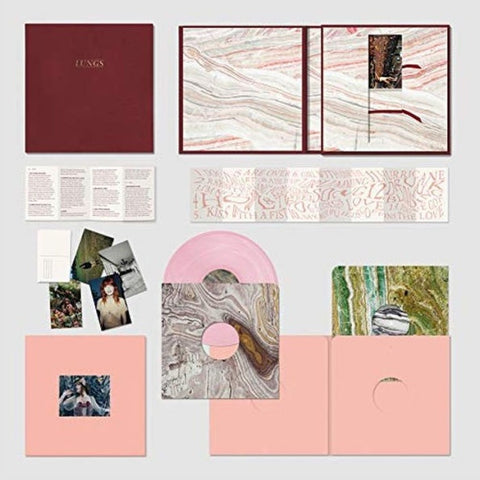 Florence + The Machine ‎– Lungs - New 3 LP Record 2019 Island Limited Deluxe Edition Pink Vinyl Box Set - Rock