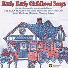 Ella Jenkins ‎– Early Early Childhood Songs - VG 1972 USA Original Press (With Book) - Folk / Children's