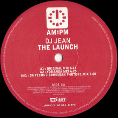"DJ Jean - The Launch VG+ - 12"" Single 1999 AM:PM UK - Trance"