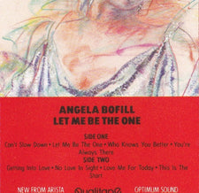 Angela Bofill ‎– Let Me Be The One - Used Cassette 1984 Arista - Soul / Disco