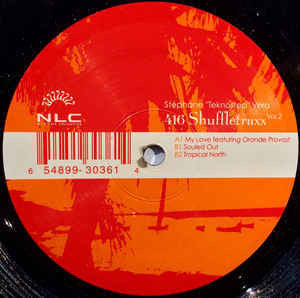 "St̩phane ""Teknostep"" Vera - 416 Shuffletraxx Vol.2 - Mint- 12"" Single USA 2005 - Chicago Deep House"