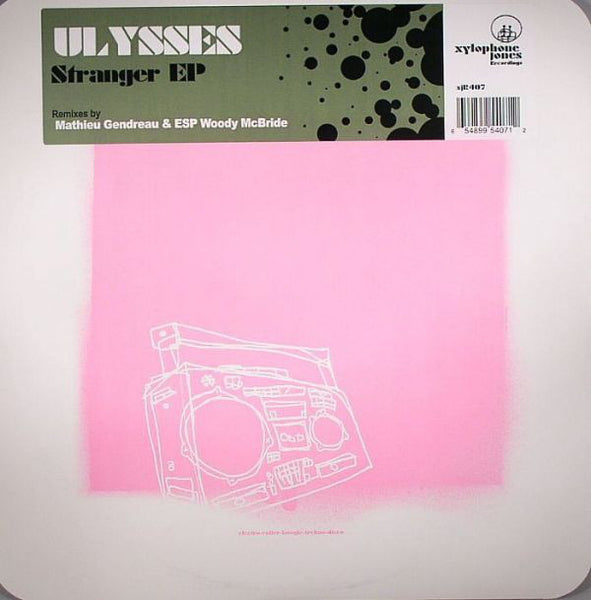 "Ulysses (Elliot Taub) ‎– Stranger EP (Woody McBride Remix) - Mint 12"" Single Record USA 2005 - Chicago House / Tech House"