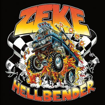 Zeke - Hellbender - New Lp Record 2018 Europe Indie Exclusive Limelight Barracuda Mint Green Vinyl & Download - Punk / Hardcore