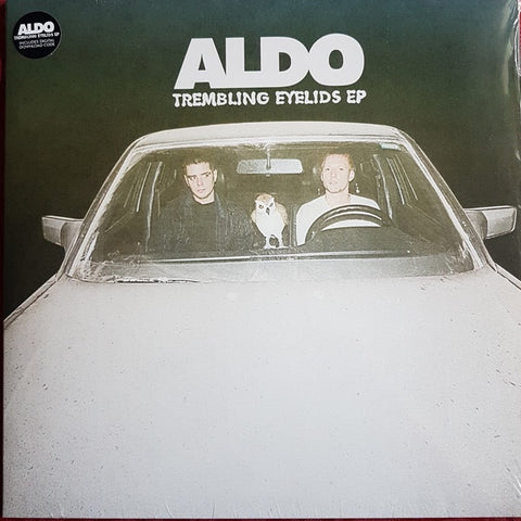 "Aldo ‎– Trembling Eyelids EP - New 12"" EP 2019 Full Time Hobby 45 rpm Vinyl & Download - Dance-pop"