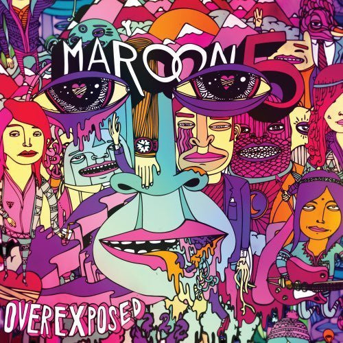 Maroon 5 - Overexposed - New Vinyl Record 2016 Interscope / Universal Reissue Gatefold LP - Pop / Rock