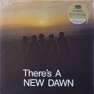 The New Dawn ‎– There's A New Dawn (1970) - New LP Record 2020 Jackpot USA Limited Splatter Colored Vinyl -  Psychedelic Rock