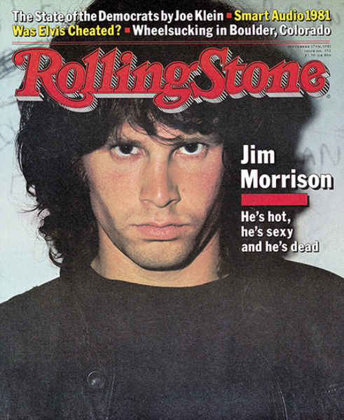 Rolling Stone Magazine - Issue No. 352 - Jim Morrison