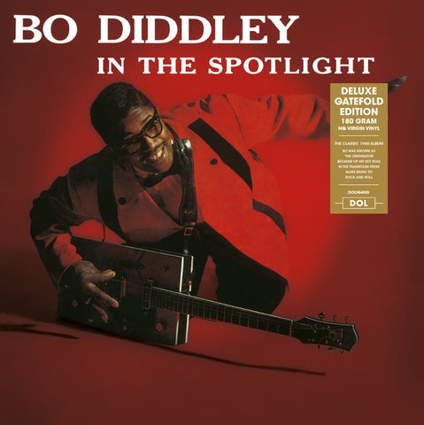 Bo Diddley ‎– In The Spotlight (1960) - New Vinyl Lp 2018 DOL 180gram EU Import Deluxe Edition with Gatefold Jacket - Rock / Blues Rock