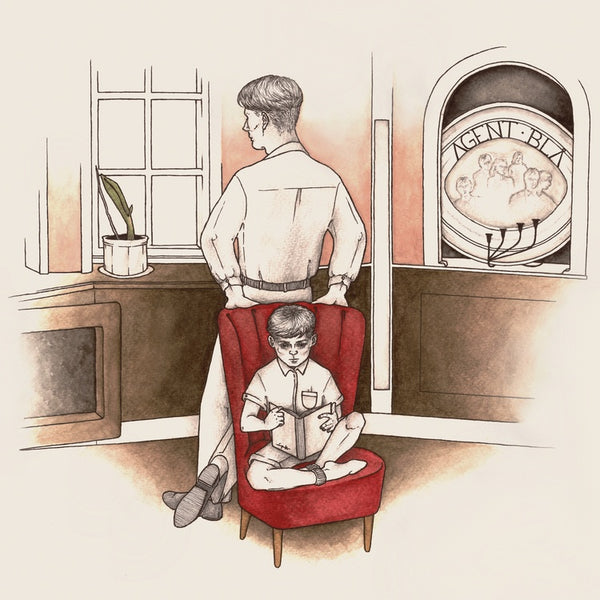 Agent blå - Morning Thoughts - New Vinyl LP Record 2019 - Indie Pop / Post-Punk