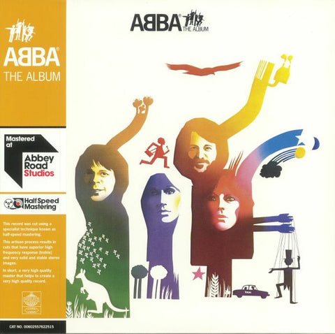 ABBA ‎– The Album (1977) - New Vinyl 2018 Polar 180Gram 2 Lp (Abbey Roads Half-Speed Mastering) 45rpm Reissue with Gatefold Jacket - Europop / Disco