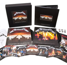 Metallica - Master Of Puppets - New Vinyl 2017 Rhino Records Deluxe Boxset, 3-LP / 10-CD / 2-DVD / 1-Cassette, Lithograph + More! - Metal / Thrash