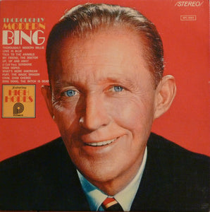 "Bing Crosby With The ""Bugs"" Bower Orchestra - Thoroughly Modern Bing - New Vinyl 1977 Stereo (Original Press) USA - Jazz/Vocal"