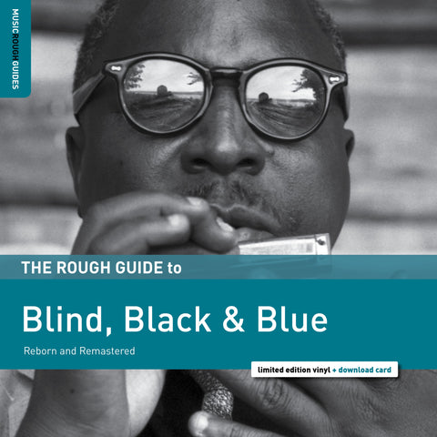 Various Artists - Rough Guide To Blind, Black & Blue - New Vinyl Lp 2019 World Music Network RSD Exclusive Compilation - Blues