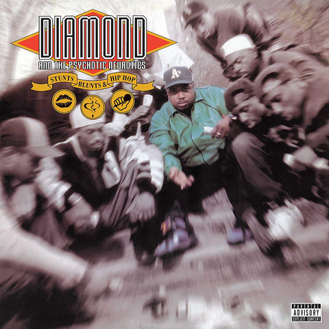 Diamond And The Psychotic Neurotics ‎– Stunts, Blunts, & Hip Hop (1992) - New Vinyl 2 Lp 2018 Mercury / UMe Reissue - Rap / Hip Hop