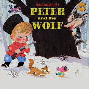 The State Symphony Orchestra & Gennadi Rozhdestvensky - Prokofieff : Peter And The Wolf - VG+ 1960's USA - Children's/Story